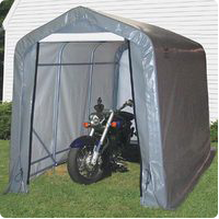 Portable Motorcycle Storage Garage Covers And Sheds