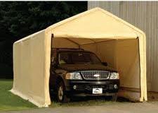 Shelter Logic Portable Garage: Portable Shelters & Garages