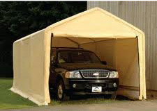 Shelter Logic Portable Garage & Shelter Logic Portable Garage: Portable Shelters u0026 Garages from ...