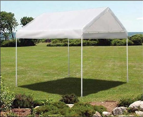 Pop Up Tent Garage : Outdoor shelters and canopies backyard canopy