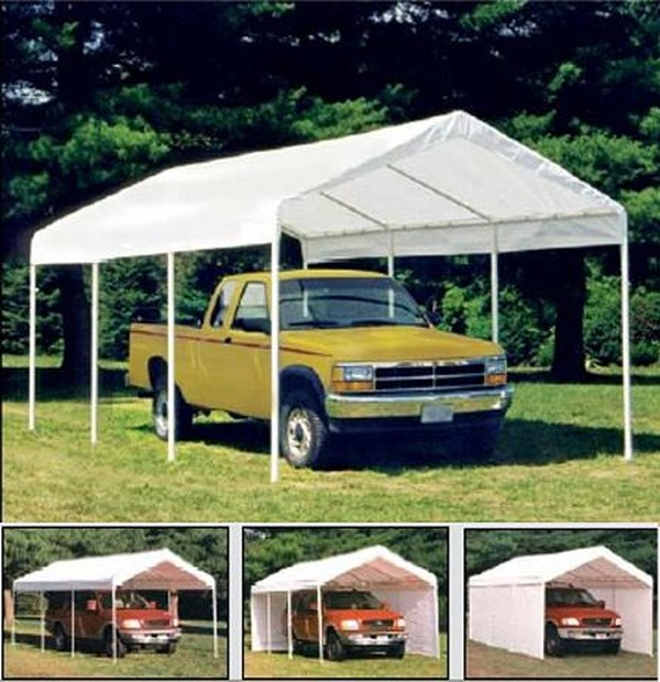 10x20 All Purpose 8 Leg Canopy with Enclosure Pack