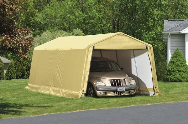 10'Wx20'Lx8'H Economy Portable Garage Shelters