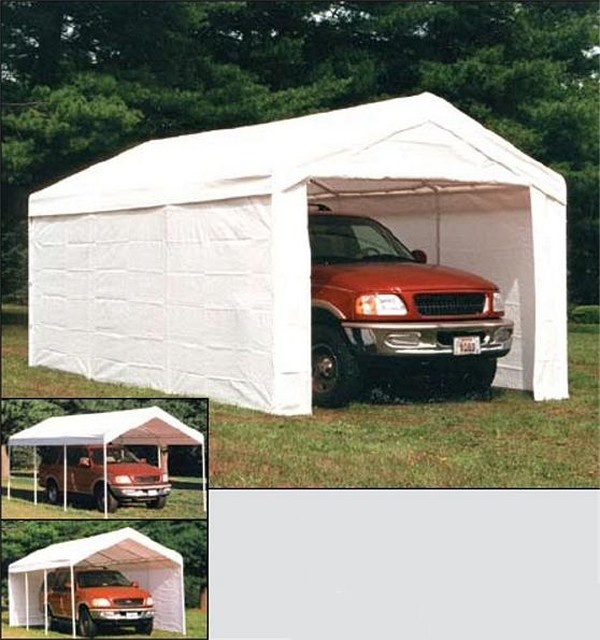 Temporary Garages For Large Trucks : Truck cover chevy forum gmc