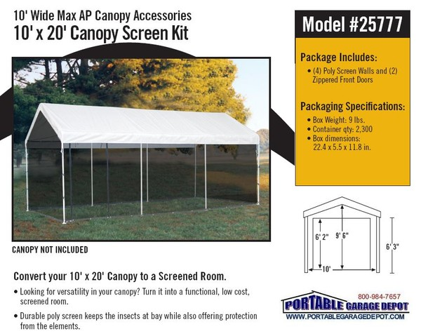 canopy factory 10x20 deluxe canopy instructions