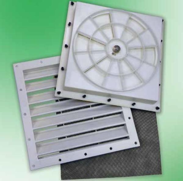 Portable Garage Ventilation : Quot portable garage ventilation kit