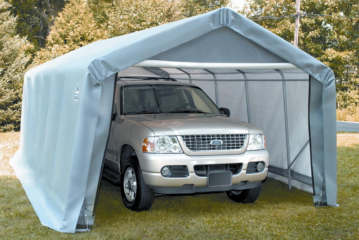 12 39 X 10 39 House Style Portable Garge Car Storage Buildings