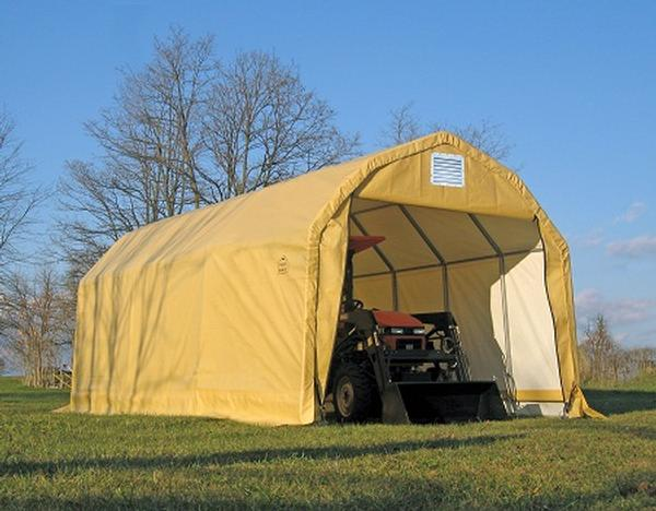 12'Wx20'Lx11'H Barn Wind/Snow Rated Portable Garage