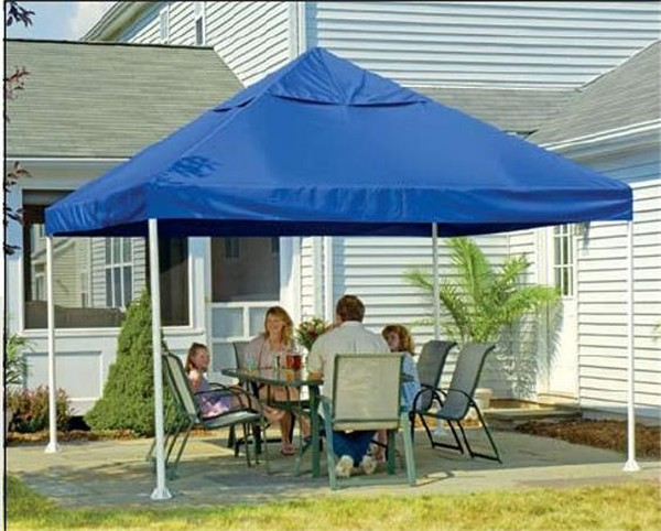 12x12 Open Top Pro Pop-up Canopy Black Cover- Shelter Logic