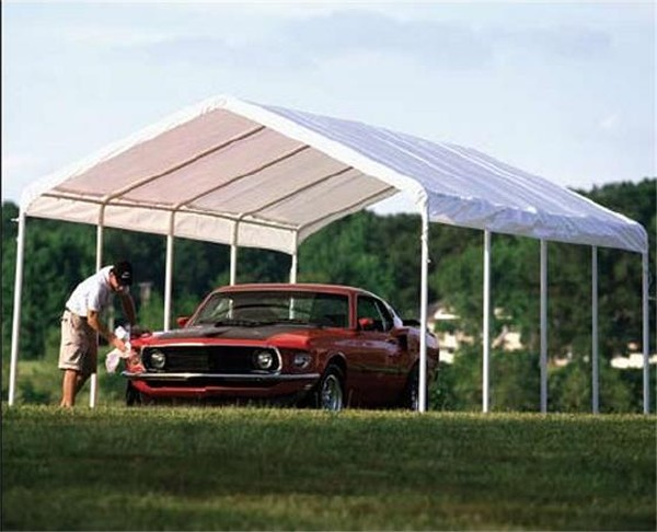 Replacement Tarp For Carport : Portable garage replacement canopy