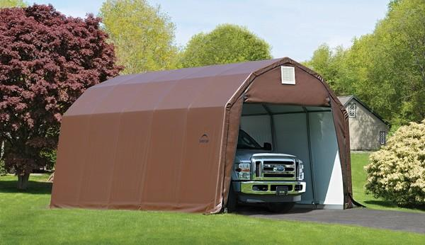 12'Wx20'Lx9'H Barn Wind/Snow Rated Portable Garage