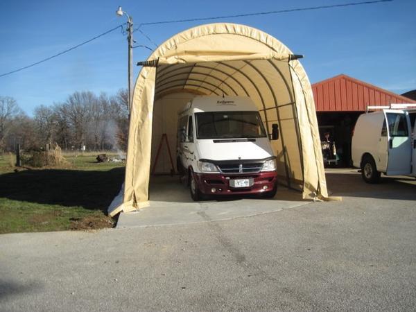 Original Camper Trailer Bed End Garages 1650mm High Suit Offroad  Caravan