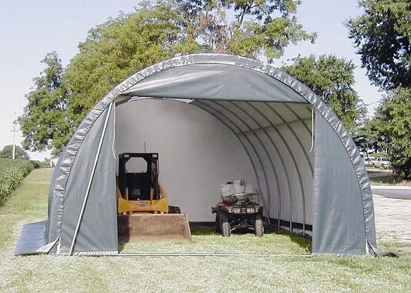 18 39 Ft Wide Polyethylene Portable Garage Shelters Storage