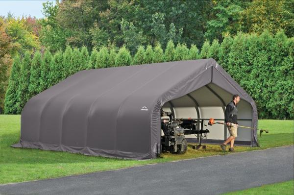 Metal Garage Shelters : Portable garage shelters instant storage buildings