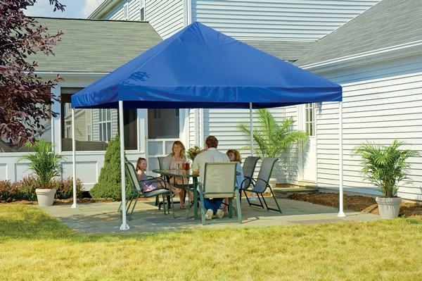 Decorative Canopy decorative canopy: canvas top canopies & backyard shade canopy