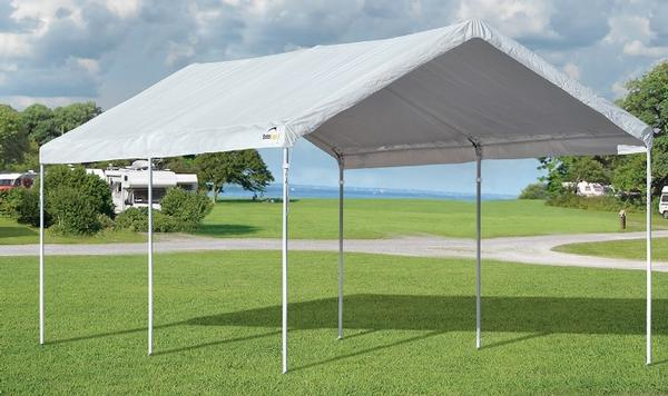 Commercial Garage Tent : Commercial grade portable canopy shelters
