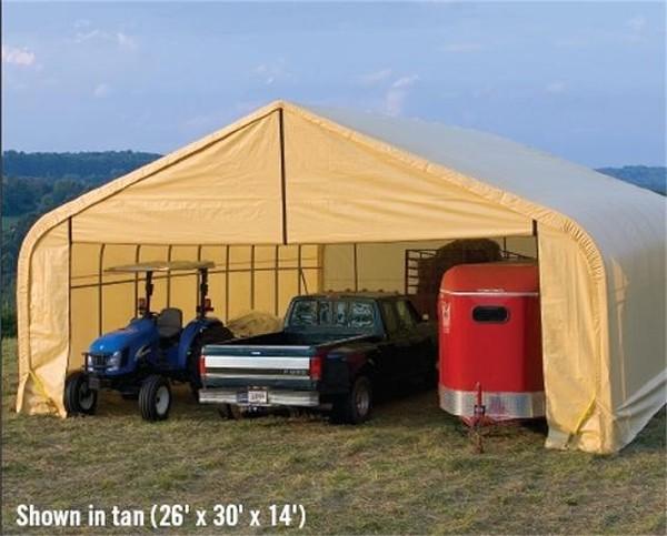 Semi Truck Portable Shelter : Animal shelters portable garage depot autos post