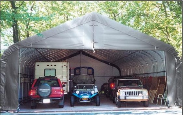 Portable Garage Depot : Ft wide polyethylene all weather boat covers