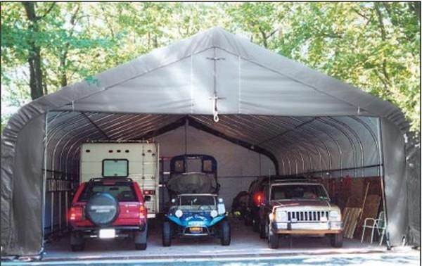 18 By 30 Instant Garage : Ft portable polyethylene car truck garage shelters