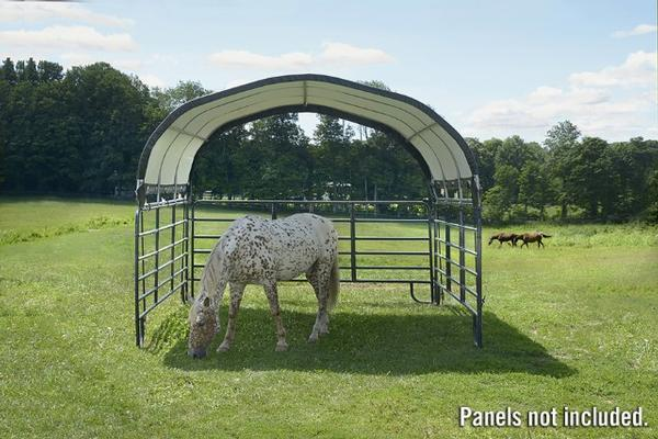 Portable Shelters Farm : Agriculture hay farm equipment storage portable