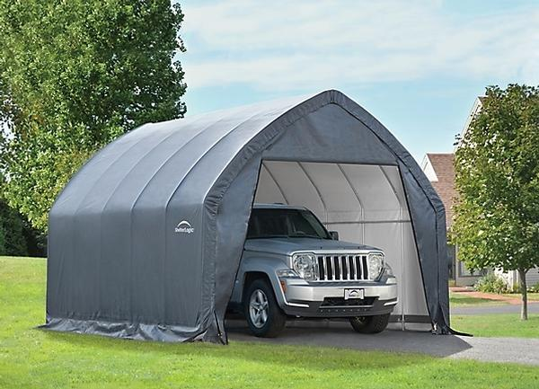 Boat shelters portable boat shelters boat garage kits for One car garage kits sale