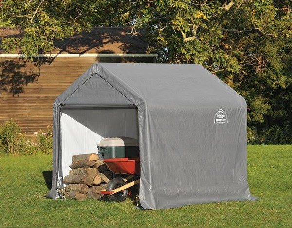 Enclosed Motorcycle Shelter : Portable garages for sale foot wide carport shelters