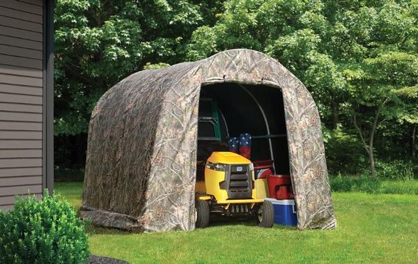 8'ft Wide Portable Motorcycle & ATV Garage Shelters ...