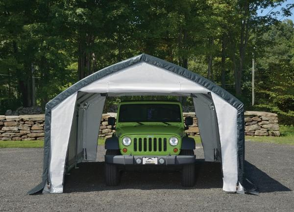 Temporary Garages For Large Trucks : Ft wide portable garages car truck covers instant