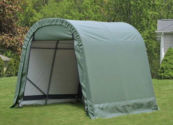Portable Motorcycle Shelter : Ft wide portable motorcycle atv garage shelters
