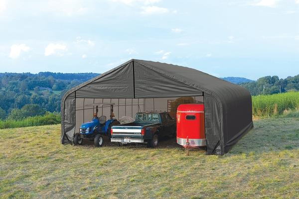 Wide Portable Carports : Portable garages for sale wide carport