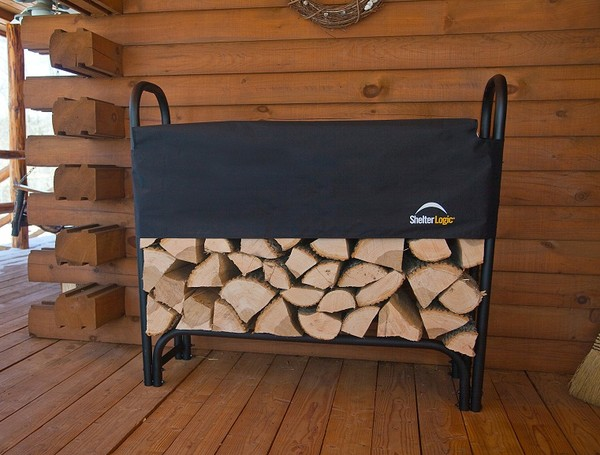 Outdoor firewood holder plans ~ The Shed Build