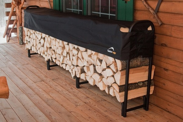 Firewood Racks: Heavy Duty Firewood Storage Rack, Fireplace ...