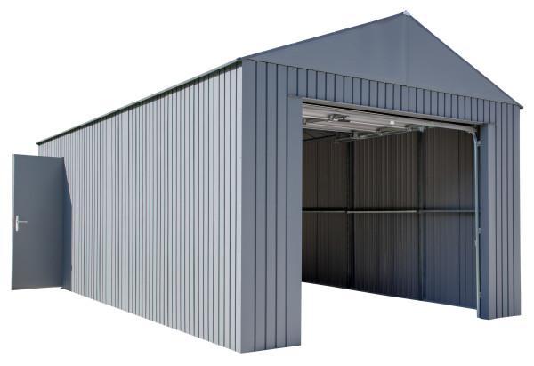 Sojag Everest Steel Garage 12'W x 25'L x 10'H