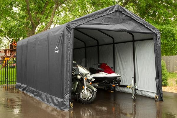 Temporary Car Shelter : Square tube shelters max strength portable