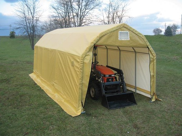 Agriculture: Hay & Farm Equipment Storage, Portable ...