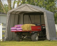 10' Portable Garages for Sale: 10 Foot Wide Shelters ...