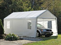 Carport Canopy & Carport Canopy: Single Car Carport Canopy Portable Garage Carport ...