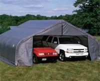 Portable 2 Car Garage: Portable 2 Car Carport Garage Shelters